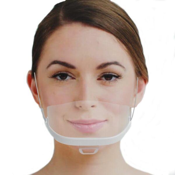 1x  iCatcher Gesichtsschild Plastikmaske Face shield Schutzvisier, wiederverwendbar 1