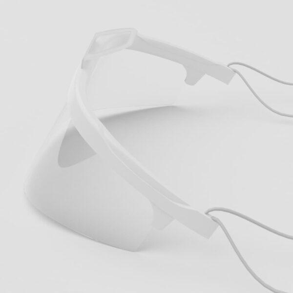 1x  iCatcher Gesichtsschild Plastikmaske Face shield Schutzvisier, wiederverwendbar 3