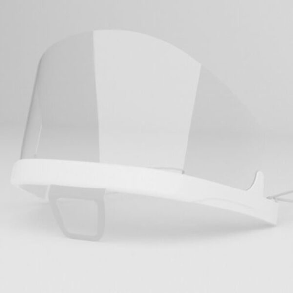 1x  iCatcher Gesichtsschild Plastikmaske Face shield Schutzvisier, wiederverwendbar 5