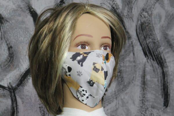 "Alltagsmaske Modell ""Skyline Kids Hunde"" 1"
