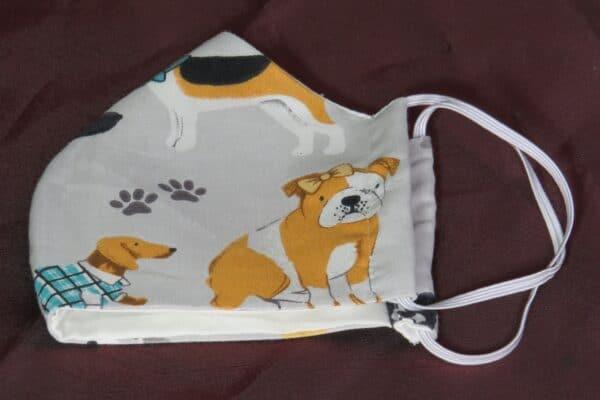 "Alltagsmaske Modell ""Skyline Kids Hunde"" 4"