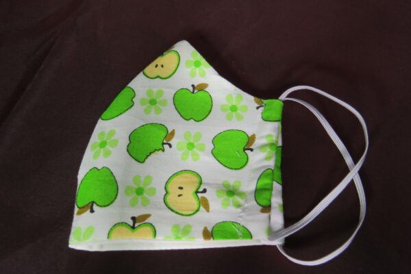 "Alltagsmaske Modell ""Skyline Happy Apple"" 4"