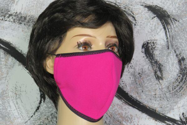 """Alltagsmaske Modell """"Skyline Warm-up Pink"""" 1"""