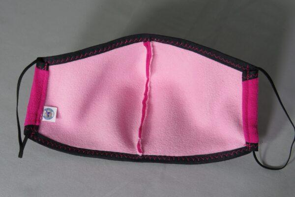 """Alltagsmaske Modell """"Skyline Warm-up Pink"""" 3"""