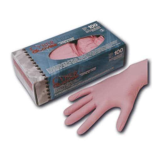 CyberTech CT-Nitril Handschuhe  pink Bubblegum Größe S, 100 Stück/Box 1