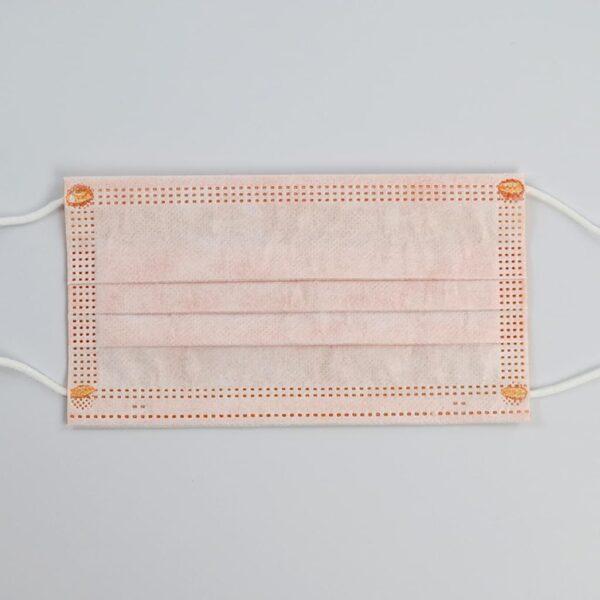 50 x Orange Mundschutz OP Nasenschutz Atemschutz Einweg  3 lagig 3