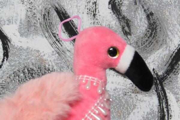 """Windeltorte Gr. M """"Flamingo Cupcake"""" Mädchen Einzelstück One-of-One 2"""