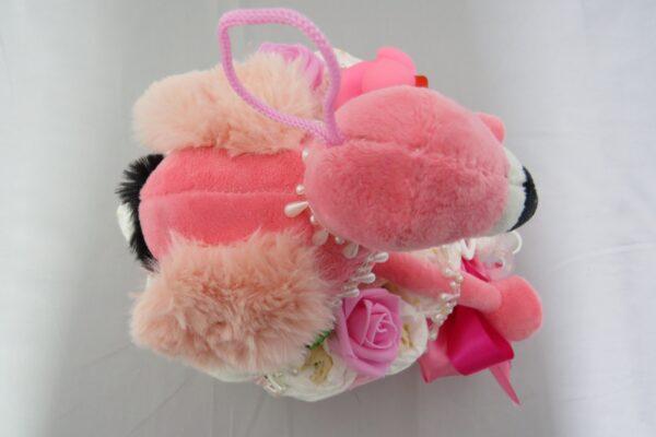 """Windeltorte Gr. M """"Flamingo Cupcake"""" Mädchen Einzelstück One-of-One 5"""