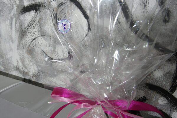 """Windeltorte Gr. M """"Flamingo Cupcake"""" Mädchen Einzelstück One-of-One 12"""
