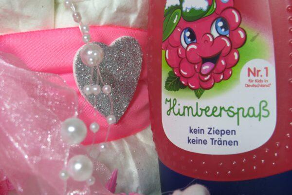 "Windeltorte ""Little Princess"" rosa, Mädchen, Unikat, Einzelstück 7"