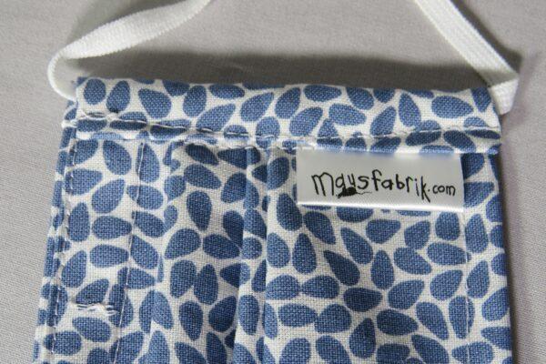 """Alltagsmaske Modell """"Blue Drop"""" 5"""