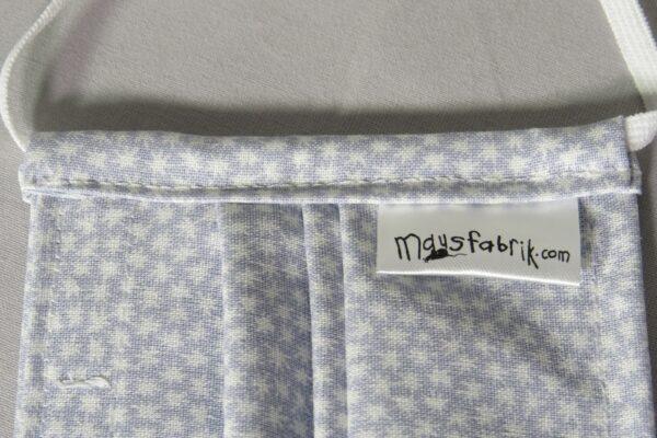 """Alltagsmaske Modell """"Little Star Grey"""" 5"""