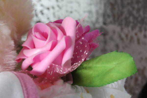 "Windeltorte ""Sweet Dreams""  rosa/pink, Mädchen, Unikat, Einzelstück 3"