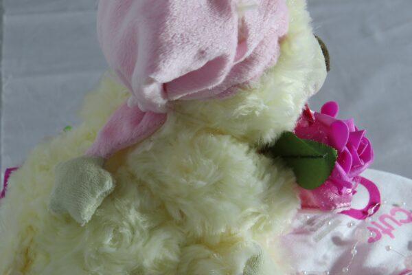 "Windeltorte ""Sweet Dreams"" rosa/pink, Mädchen, Unikat, Einzelstück 6"