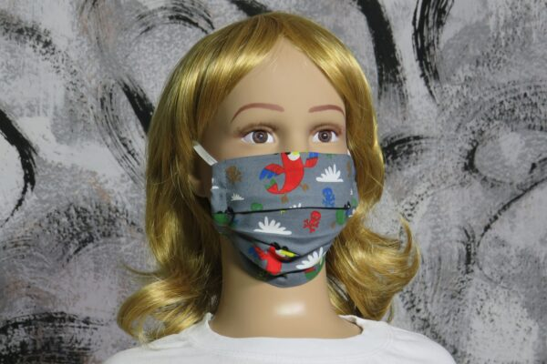 "Alltagsmaske Modell ""Liberty Kids roter Pirat"" 1"