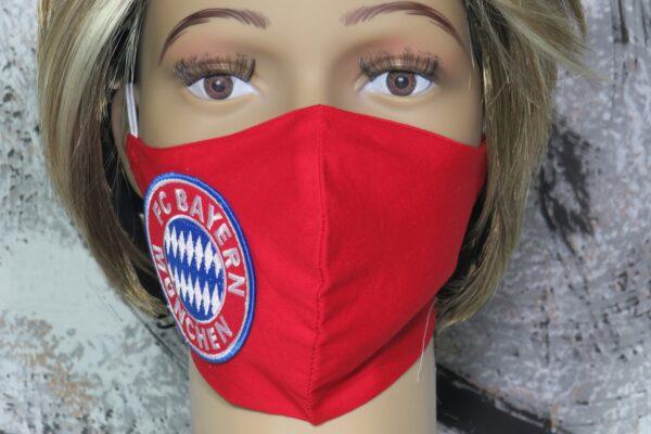 "Alltagsmaske Kundenwunsch ""Fußball-Fan 3"" 5"