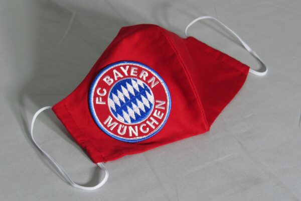 "Alltagsmaske Kundenwunsch ""Fußball-Fan 3"" 3"