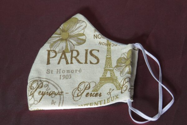 """Alltagsmaske Modell """"Skyline Paris"""" 4"""