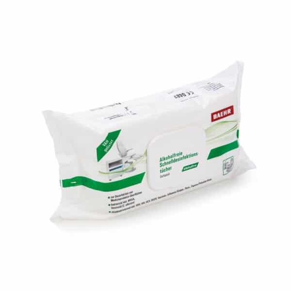 Schnelldesinfektionstücher alkoholfrei, Softpack VAH gelistet 80 Blatt 2023/09 1