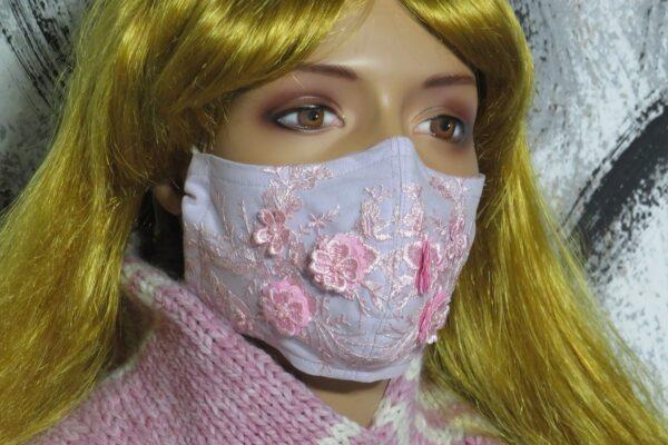 """Alltagsmaske Modell """"Flower Princess"""" 1"""