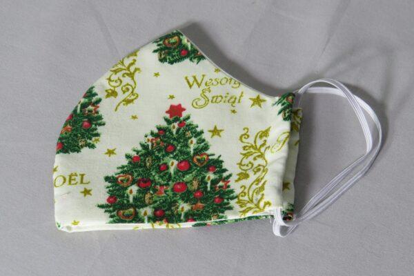 """Alltagsmaske Modell """"Weihnachtsbaum"""" 4"""