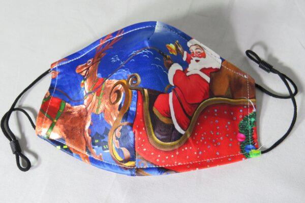 """Alltagsmaske Modell """"Weihnachtsmann"""" 2"""