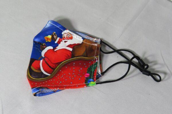 """Alltagsmaske Modell """"Weihnachtsmann"""" 4"""