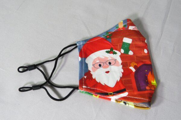 """Alltagsmaske Modell """"Weihnachtsmann 2"""" 4"""