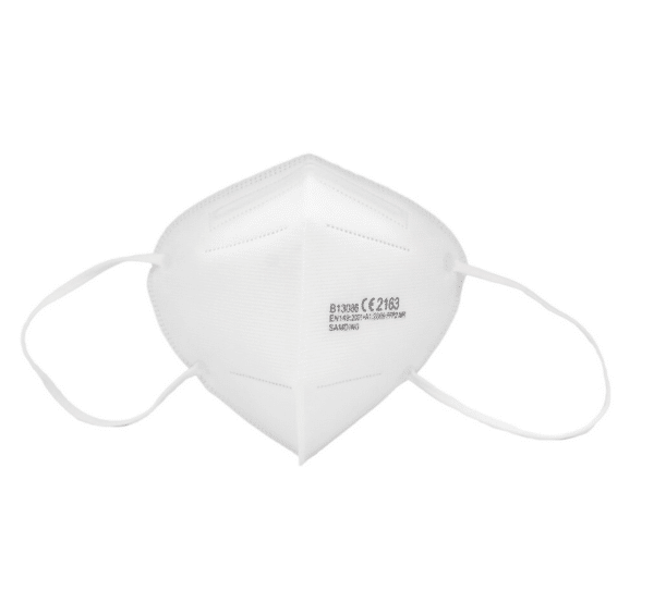 FFP2 Schutzmaske, weiß, Nase-Mund-Schutz Maske CE Zertifizierung 2163 1