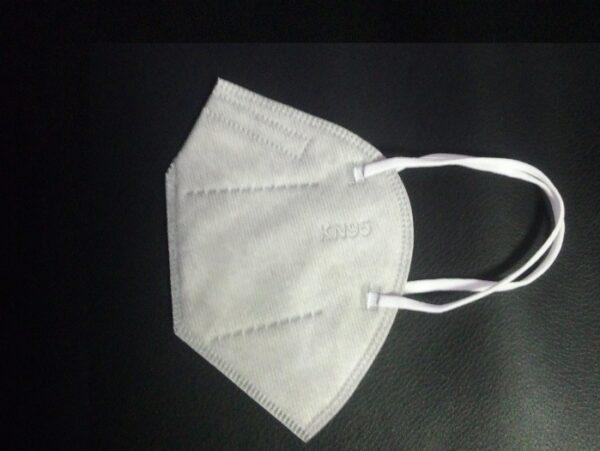 3er Pack KN95 Schutzmaske, grau, 5-lagig, Einweg-Atemschutzmaske (FFP2 Standard) 1