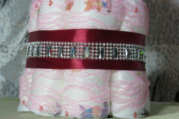 Cupcake pink Rabbit - Spieluhr Windeltorte-28022021-2 2