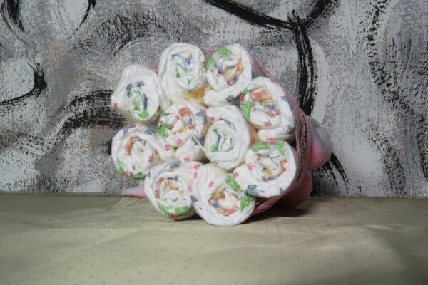 Cupcake pink Rabbit - Spieluhr Windeltorte-28022021-2 3