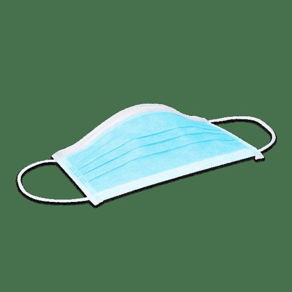 Mundschutzmaske ECO BLUE 1 Pack (50 Stück) EN 14683 Typ II 4