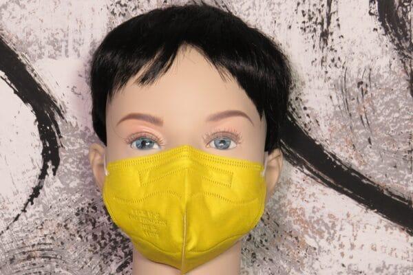 10er Pack KN95 KINDER Maske, bunt sortiert, Atemschutzmaske, Partikelfiltermaske, FFP2 Standard 3