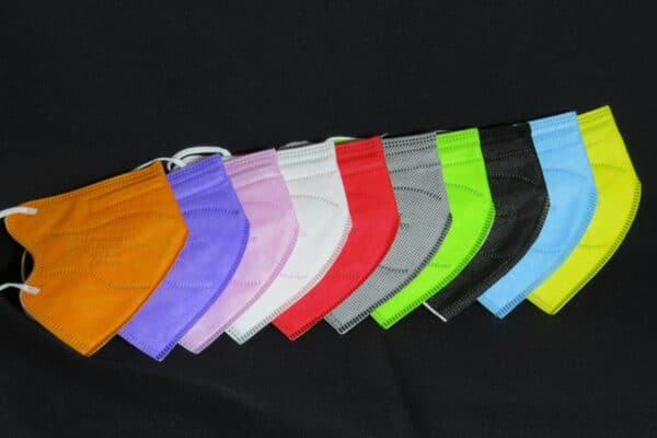 10er Pack KN95 KINDER Maske, bunt sortiert, Atemschutzmaske, Partikelfiltermaske, FFP2 Standard 1