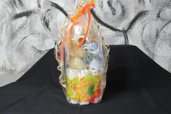 Windeltorte Cupcake Spieluhr Schlafbär 5