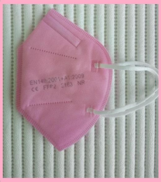 5er Pack FFP2 Maske CE Zertifiziert, 5lagig, Blitzversand DE Händler✅ FFP2 Masken Schwarz🖤Pink💖Blau💙 ✅Farbwahl 15